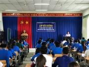 Hớn Quản: 130 cán bộ Đoàn - Hội cấp cơ sở tham gia lớp bồi dưỡng lí luận và nghiệp vụ năm 2017